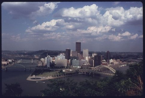 Pittsburgh in 1974. From WikiCommons.